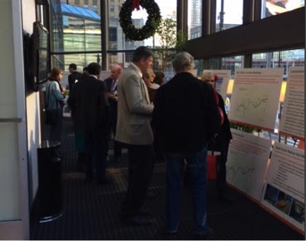 The community had the opportunity to learn more about the Oasis Rail Transit project and speak to project planners during the December 2013 Public Involvement Meetings