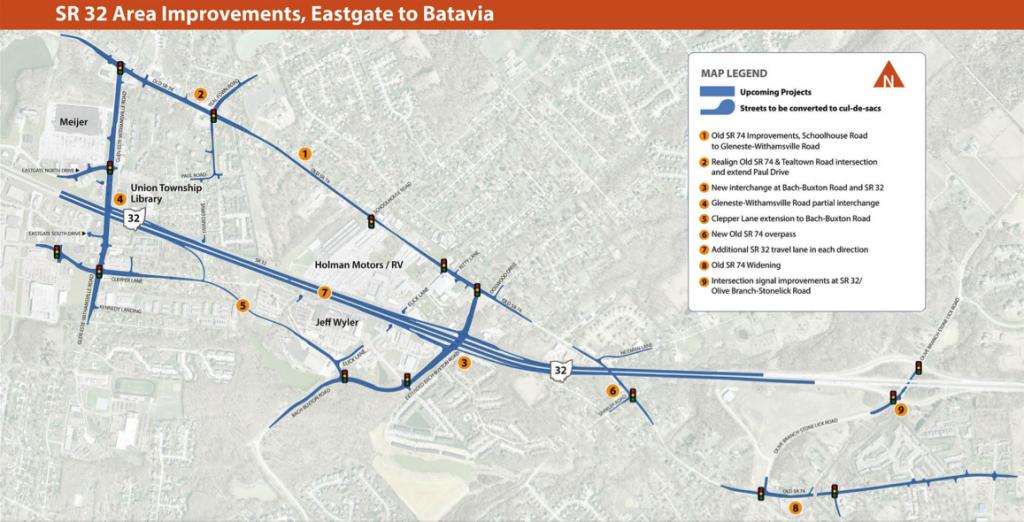 SR 32 Improvements, Eastgate to Batavia