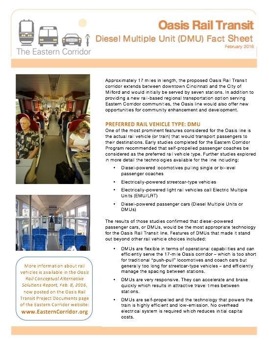 DMU Fact Sheet image