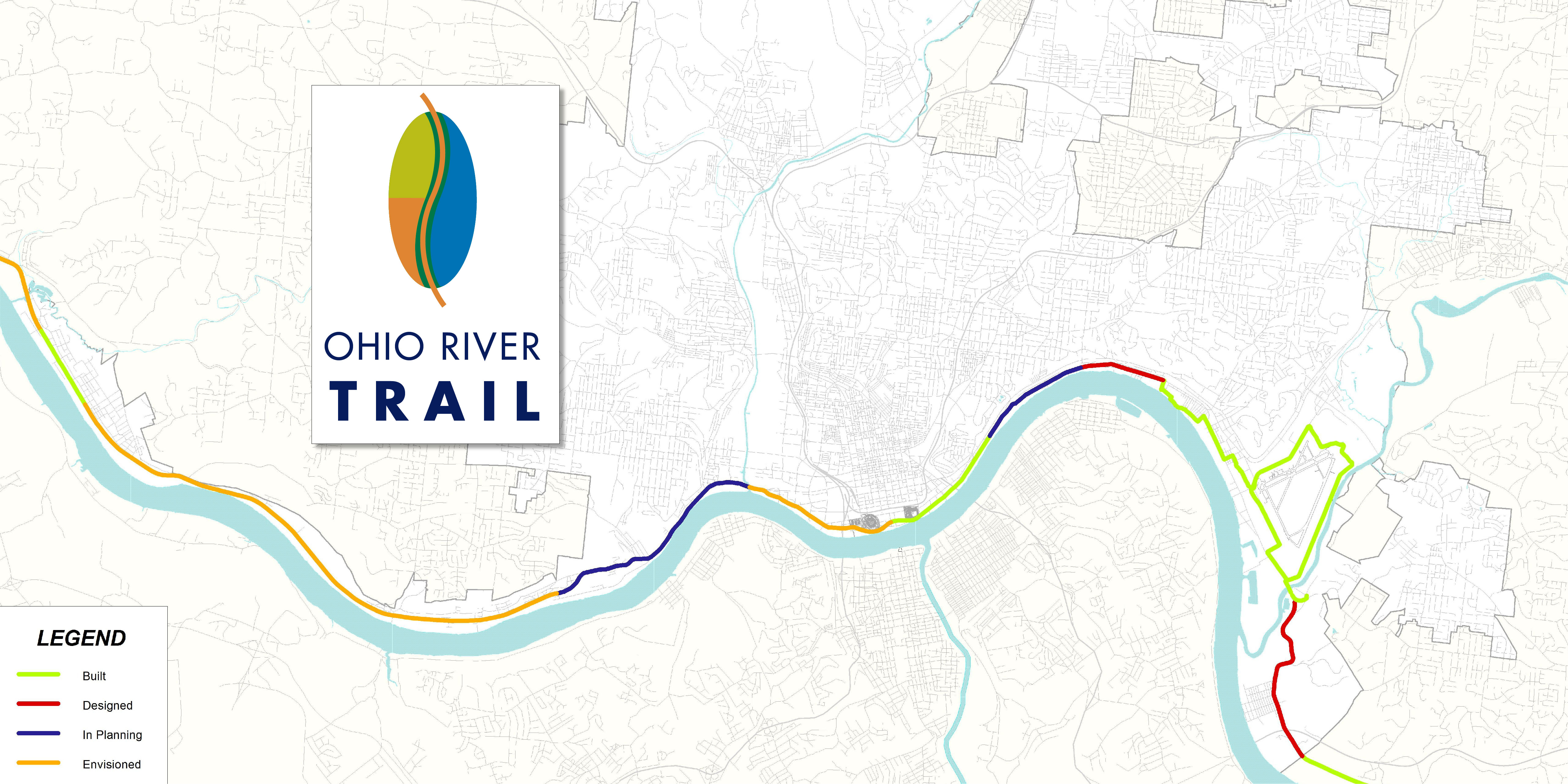 Bike Trails In Ohio Map.Bike Connections Eastern Corridor